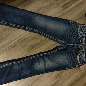 Gently worn Silver Jeans